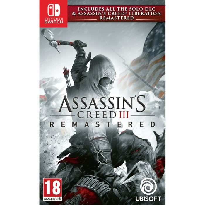 Creed Remaster Switch Assassin's 3Liberation Jeux yvnmN0w8O